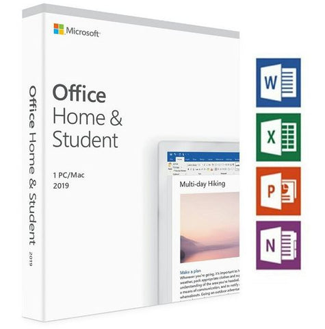 Office Home and Student 2019 Retail Box Medialess
