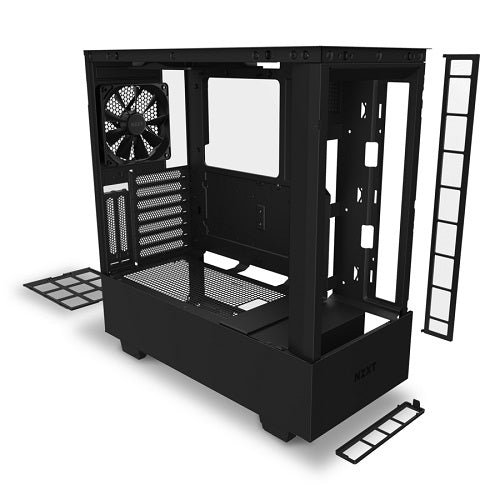 H510 Elite Premium Compact Mid-Tower ATX Case w/TG & Smart Device V2 | Matte Black | Matte White