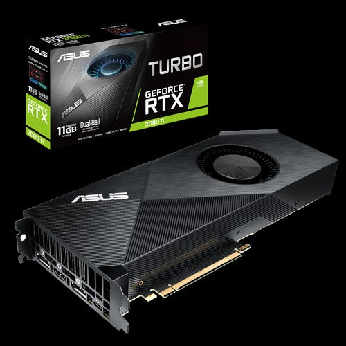 ASUS TURBO-RTX2080TI-11G GDDR6 GRAPHIC CARD (3Y)