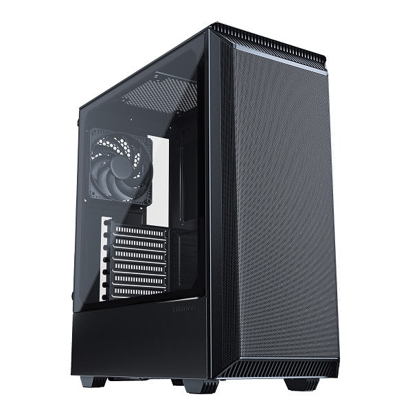 Eclipse P300A Airflow Mid Tower Tempered Glass, Black PC Case