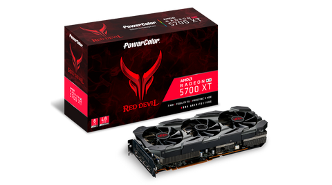 Red Devil Radeon RX 5700 XT 8GB GDDR6 PCIe 4.0 Graphics Card