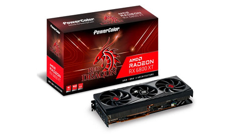 Red Dragon RX 6800 XT OC 16GB GDDR6 AMD RDNA 2 Graphics Card