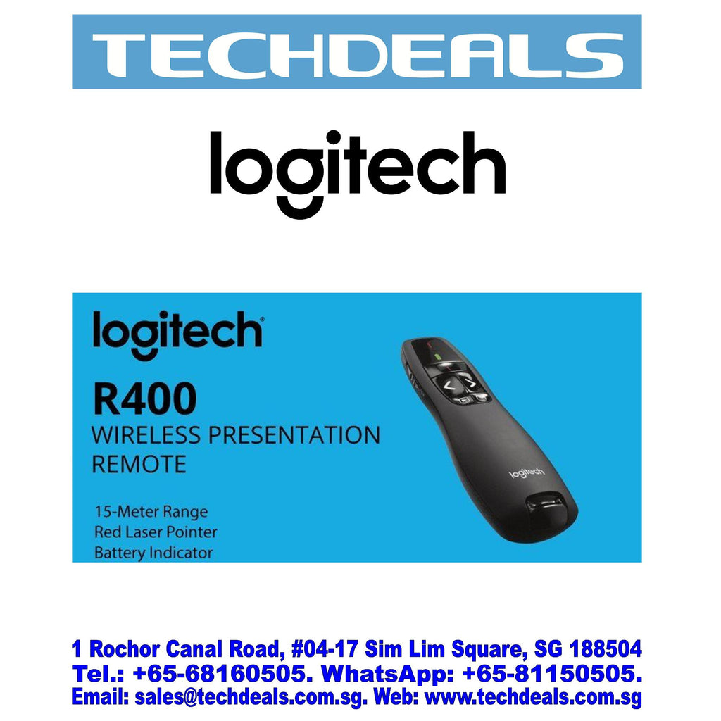 LOGITECH R400 WIRELESS PROFESSIONAL PRESENTER (3Y)