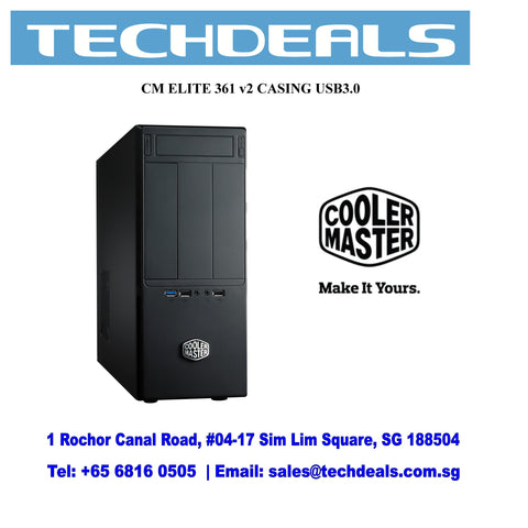 Coolermaster Elite 361 Casing Usb3.0