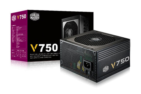 Coolermaster V750 F-Modular 80+Gold Psu 7Yrs