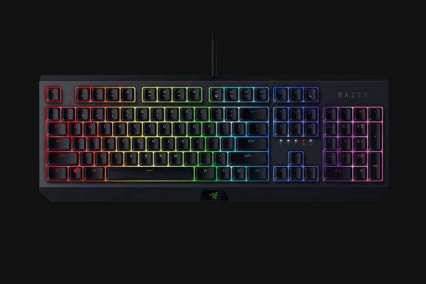 BlackWidow - Green Switch Mechanical Gaming Keyboard - US Layout
