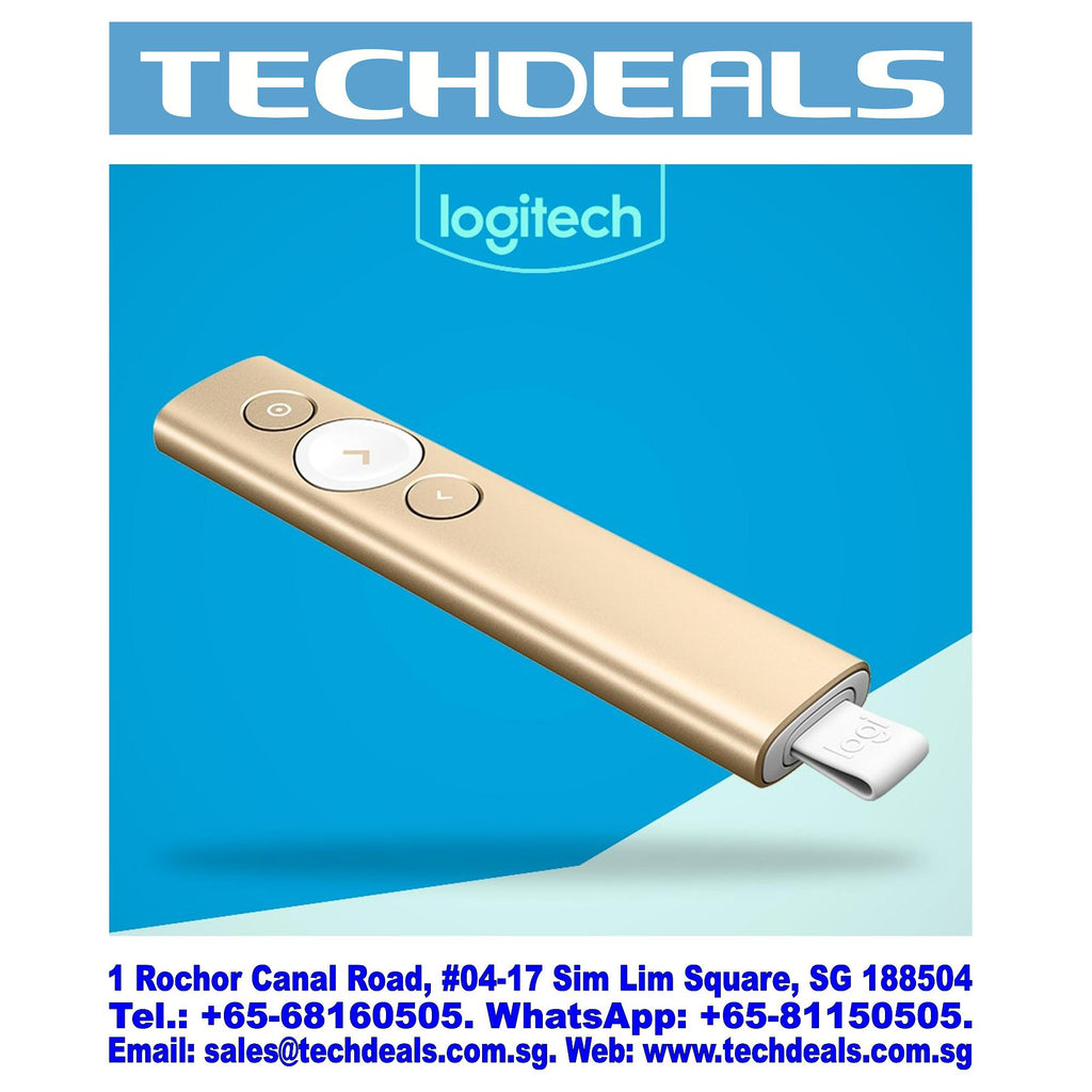 LOGITECH SPOTLIGHT WIRELESS PRESENTER GOLD (1Y)
