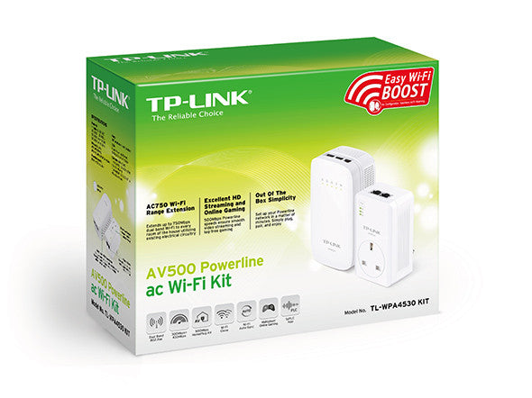 Tp-Link WPA4530Kit AV500 Powerline ac WiFi Kit