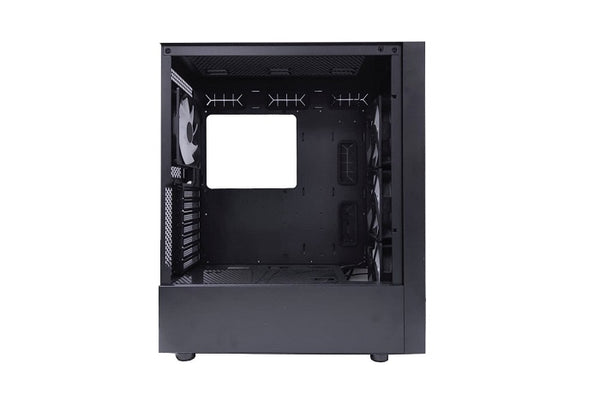 Forge S Mesh Front ATX Tempered Glass Case with 4*Orbis Fans + ARGB/PWM Sync Hub