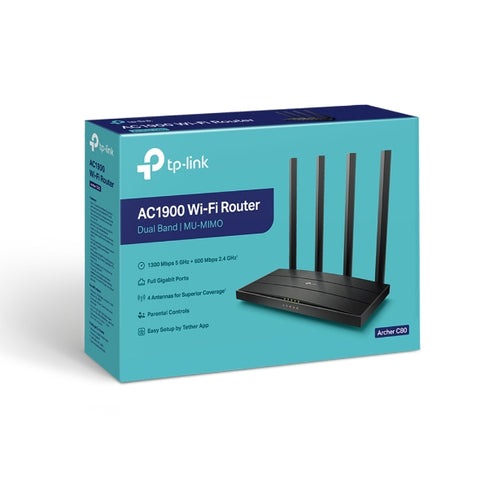 Archer C80 AC1900 Wireless MU-MIMO Wi-Fi Router