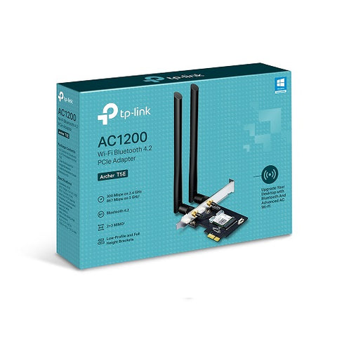 Archer T5E AC1200 Dual Band WiFi + Bluetooth 4.2 PCIe Adapter