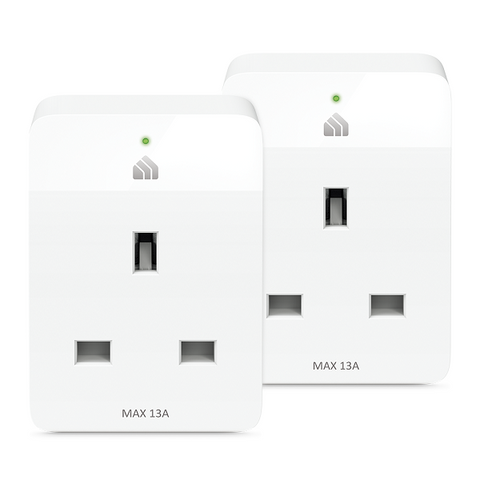 KP105P2 Kasa Smart Wi-Fi Plug Slim (2-Pack)