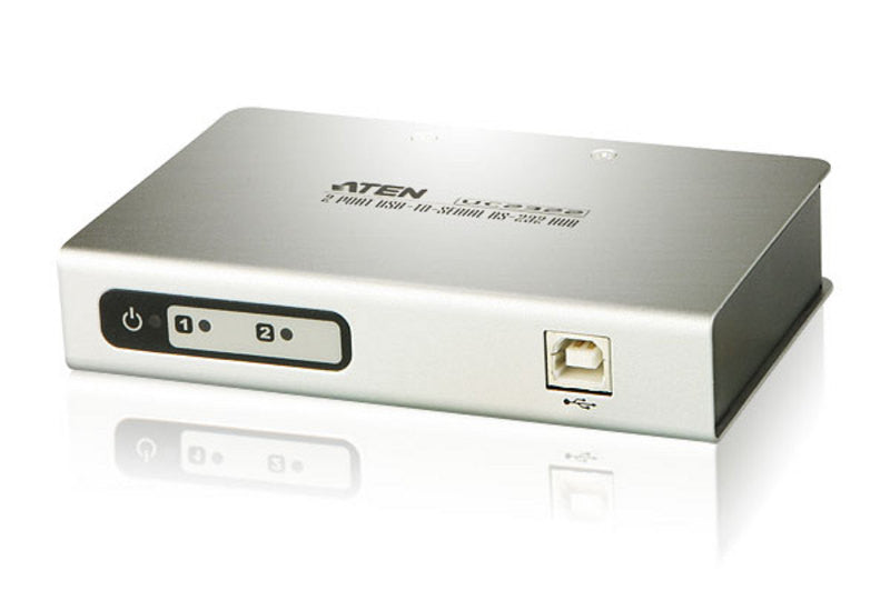 Aten UC2322 2-Port USB-to-Serial RS-232 Hub