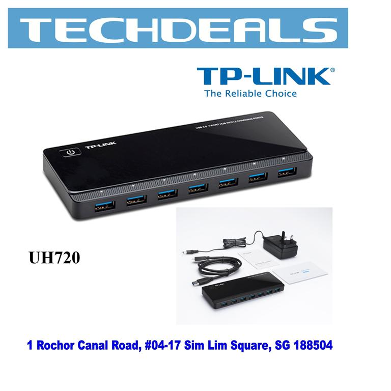 Tp-Link UH720 USB3.0 7-Port Hub with 2 Charging Ports