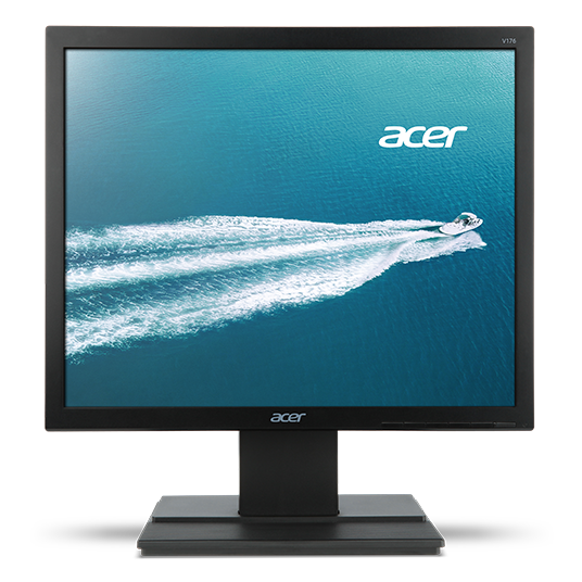 "Acer V176L 17"" Square LED 1280 x 1024 VGA DVI Monitor"