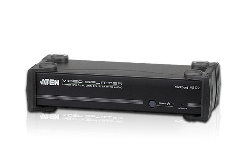 Aten VS172 2-port DVI Dual LinkVideo Splitter. Audio enabled