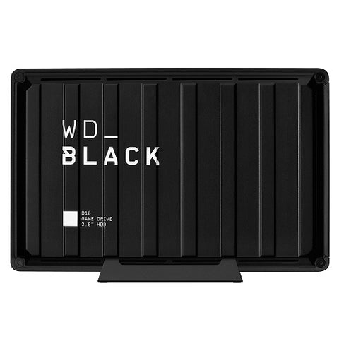 Black D10 Desktop Game Drive Black - 8TB
