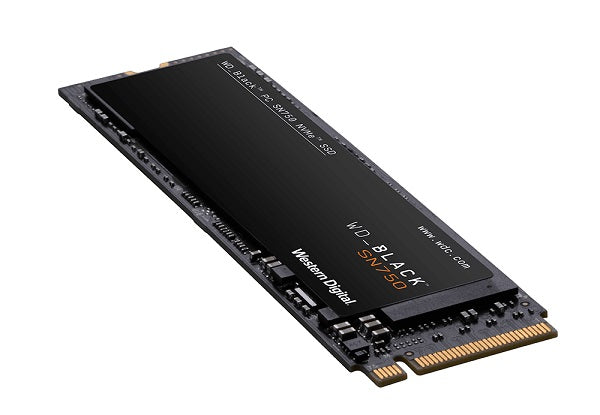 Black SN750 PCIe Gen3 x4 NVMe Solid State Drive SSD upto 3430M Read/2600M Write - without Heat Sink - 500GB