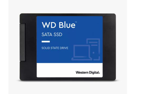 Blue SATA SSD Solid State Drive 2.5-inch | 7mm | Read up to 560MB/s | Write up to 530MB/s - 500GB