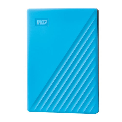 WD My Passport Portable USB 3.2 Gen 1 HDD | 1TB | 2TB | 4TB | 5TB Blue