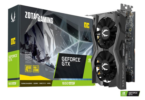 GTX 1650 Super Twin Fan 4GB DDR5 1755Mhz Graphic Card