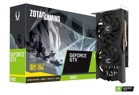 GTX 1660 Twin Fan 6GB DDR5 1785Mhz Graphics Card