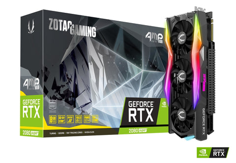 RTX 2080 SUPER AMP CORE RGB 8GB DDR6 1830Mhz Graphic Card
