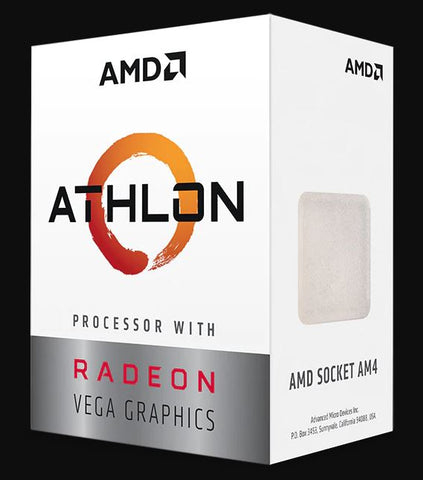 AMD Athlon 3000G Processor with Vega 3 Graphics
