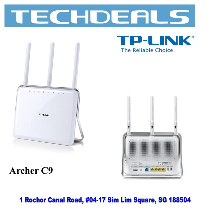 TP-Link Archer C9 AC1900 Dual-Band Wi-Fi Router