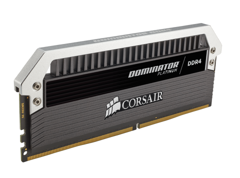 Corsair DDR4, 3000MHz 32GB 2 x 16GB DIMM, Unbuffered, 15-17-17-35 , DOMINATOR?? Platinum, 1.35V, XMP 2.0