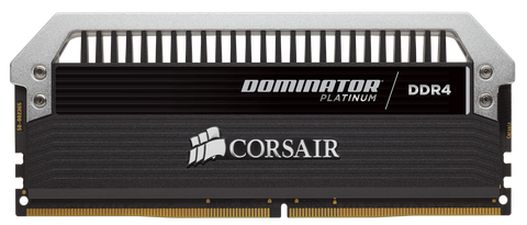 Corsair DDR4, 2666MHz 16GB 2 x 8GB DIMM, Unbuffered, 15-17-17-35 , DOMINATOR?? Platinum, 1.20V, XMP 2.0