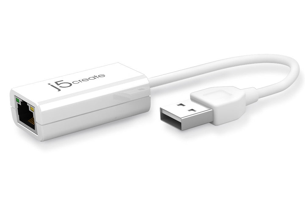 J5CREATE USB 2.0 ETHERNET ADAPTER
