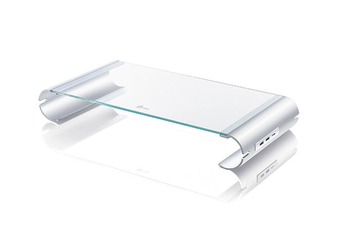 J5CREATE Monitor Stand with 4-Port USB 3.0 Hub