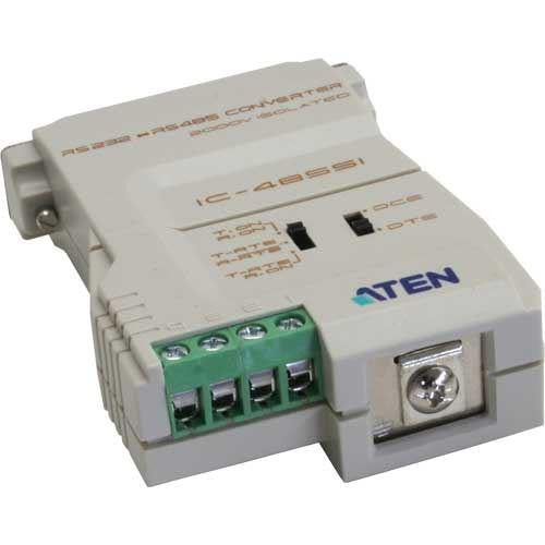 Aten IC485SI RS232 to RS485/422 Bi-directional Converter(connector: Grounding Tab)