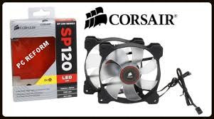 Corsair Air Series SP120 LED Red High Static Pressure 120mm Fan (0.72 KG)
