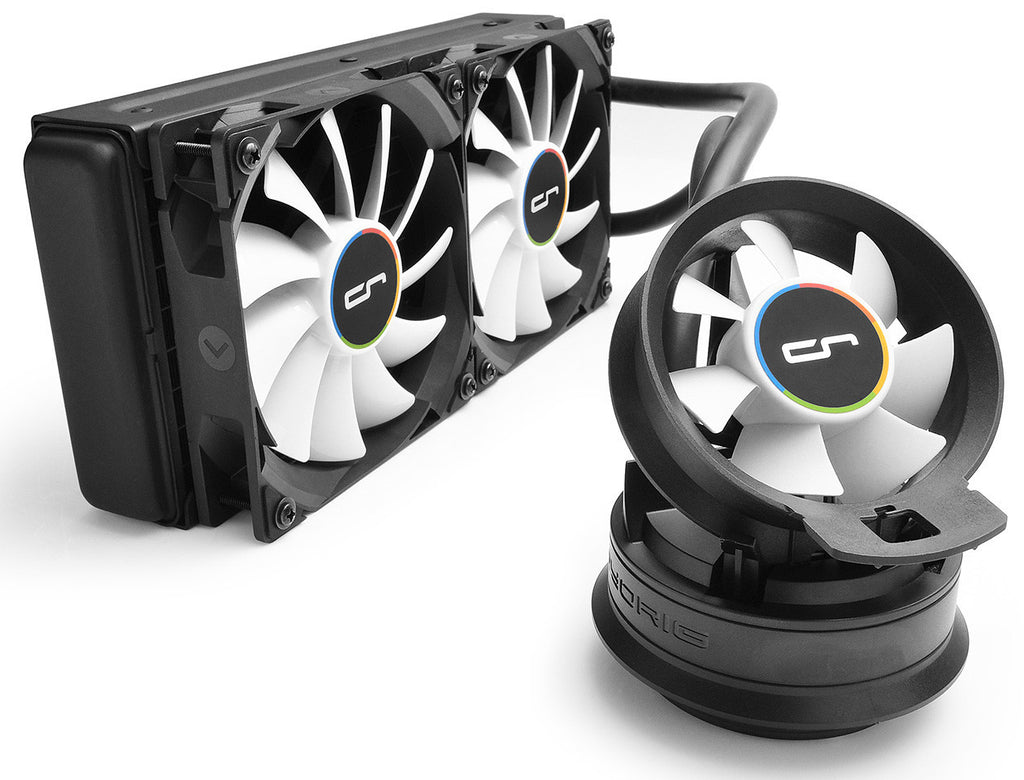 Cryorig A40 All in one liquid cooler with 240 x 120 x 25mm radiator