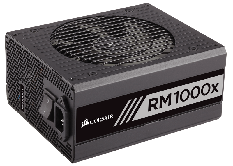 Corsair RMx Series™ RM1000x — 1000 Watt 80 PLUS® Gold Certified Fully Modular PSU ( 10 Year Warranty )