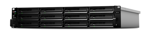 Synology RS3614RPXS 12 Bays (Expandable up to 36 Bays 216TB), Dual Core 3.4GHz CPU, 4GB DDR3 ECC RAM (Expandable up to 32GB)