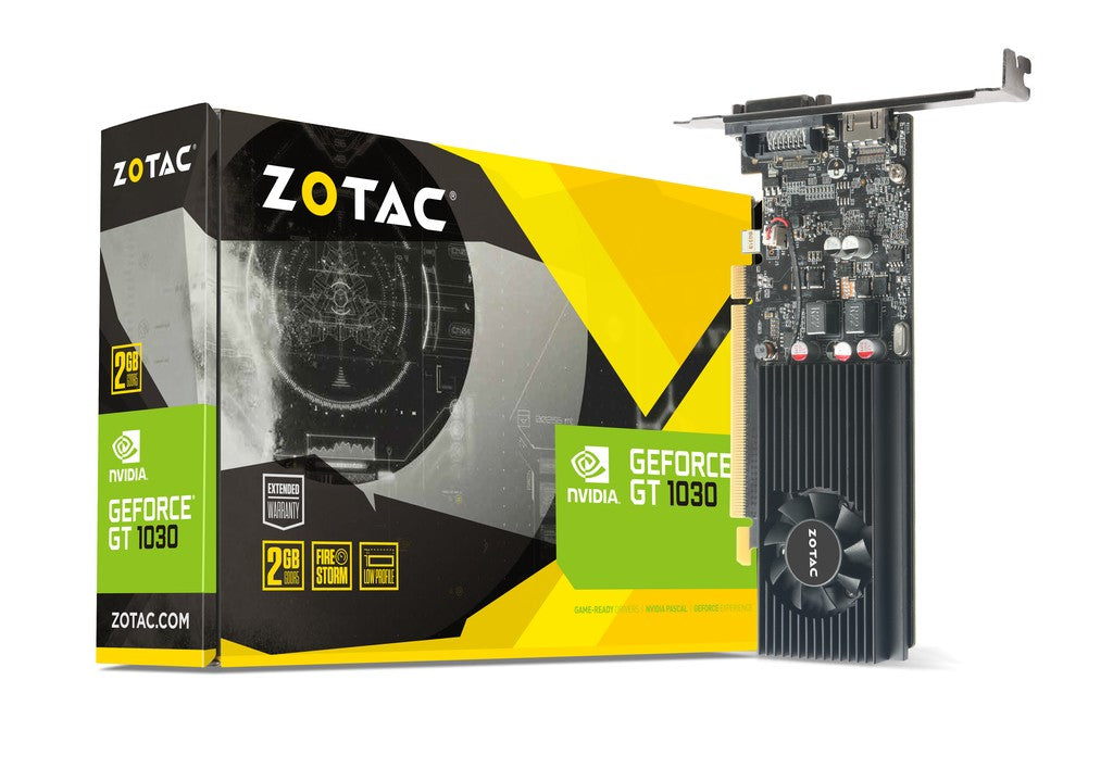 Zotac Geforce GT 1030 LP 2GD5 Graphics Card
