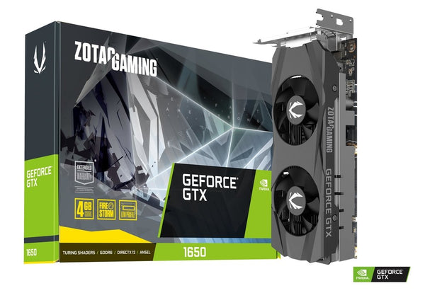 GAMING GeForce GTX 1650 Low Profile 4GB GDDR6 Graphics Card