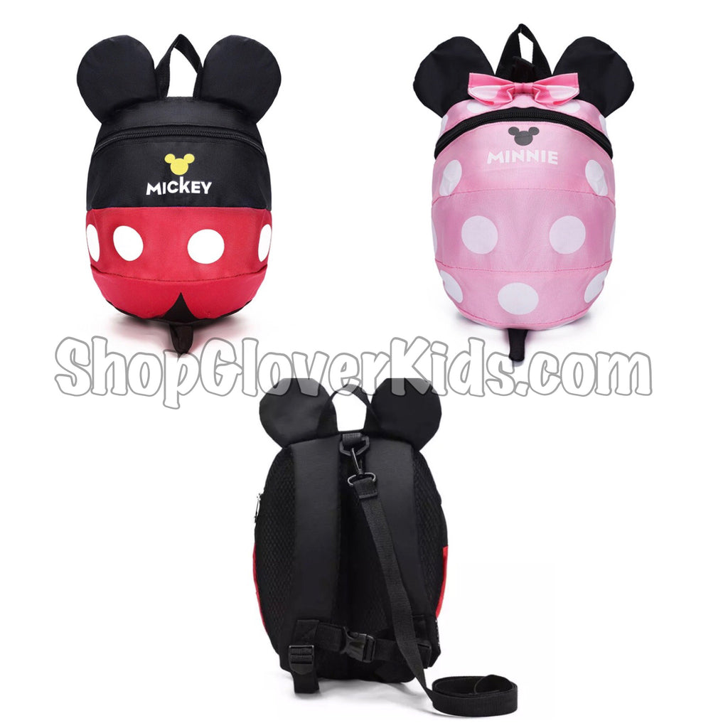 Just added! Mickey and Minnie Backpacks!