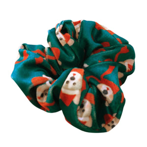 Christmas Scrunchies Pack of 4