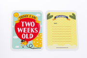 Two Weeks Old Baby Milestone Card