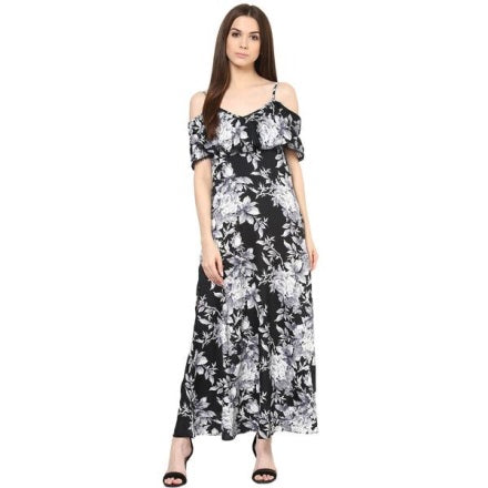 casual heels  gladiators shoe  maxi dress