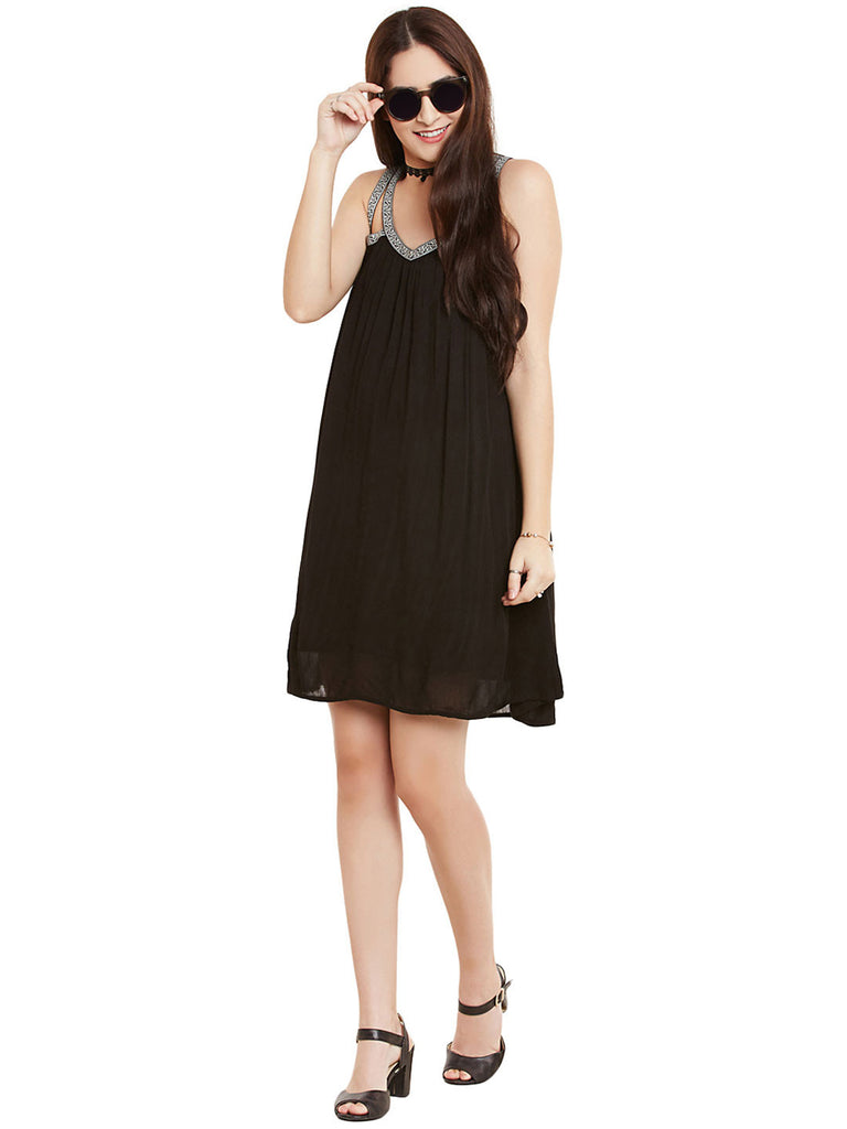 YOUR HAPPY BLACK DRESS - Miway Fashion