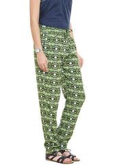 DIAMOND GREEN DRAWSTRING TAPERED PANTS - Miway Fashion