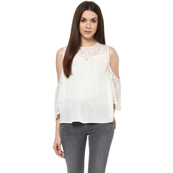 GRACE WITH LACE TOP - Miway Fashion