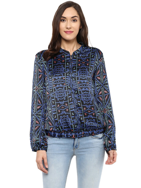 MULTICOLOR BOMBER JACKET - Miway Fashion