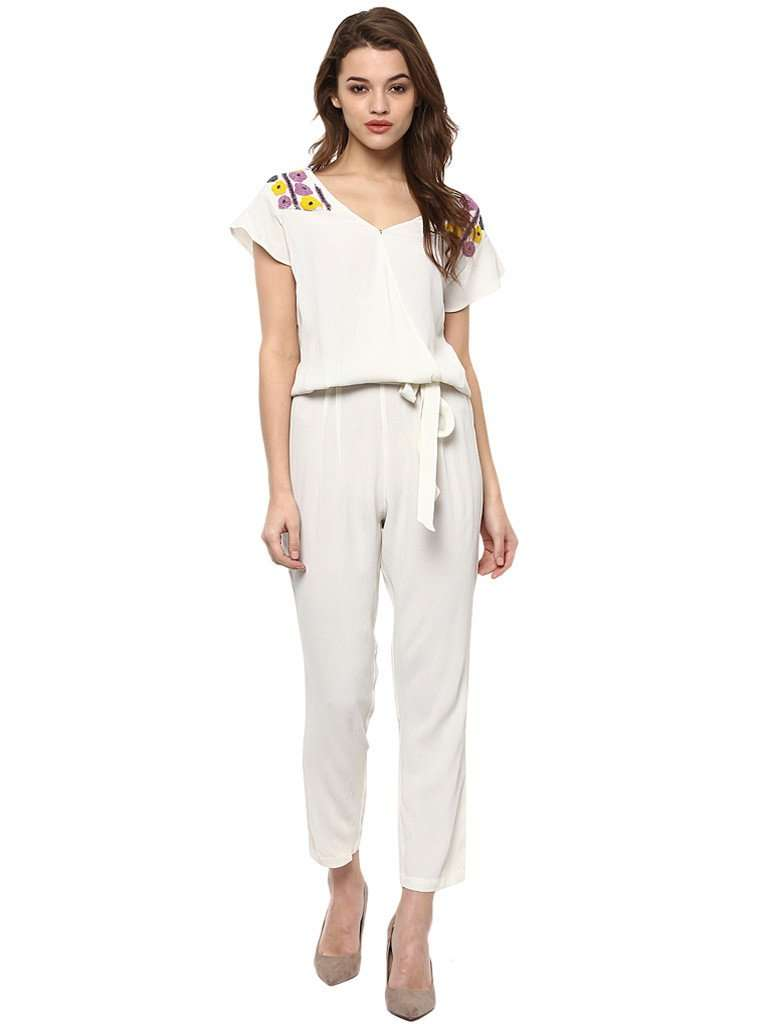 BEADED LONG JUMPSUIT - Miway Fashion