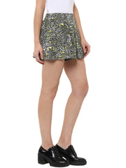 FLARED MICRO SHORTS - Miway Fashion